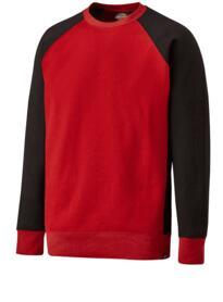 Dickies Two Tone Sweatshirt - Red