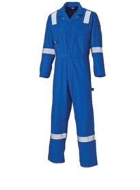 Lightweight Cotton Coverall WD2279LW from Dickies - Royal Blue