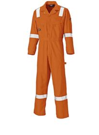 Lightweight Cotton Coverall WD2279LW from Dickies - Orange