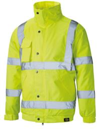 HiVis Dickies Bomber Jacket - Yellow