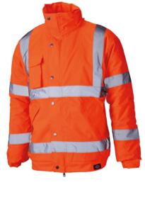 HiVis Dickies Bomber Jacket - Orange
