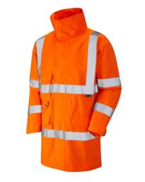 Torridge Hivis Breathable Lightweight Anorak - Orange