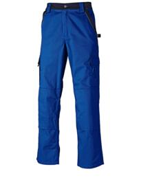 Dickies Industry 300 Two Tone Work Trousers - Royal Blue / Navy Blue