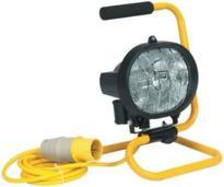 Portable Halogen Sitelight - 500W 240V