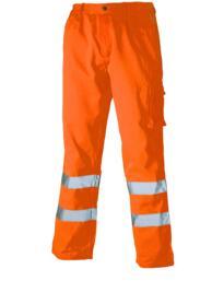 HiVis Dickies Polycotton Trousers - Orange