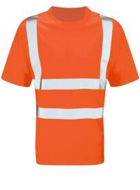 Viper Hivis Tee Shirt - Orange