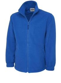 Uneek UX5 Lightweight Full Zip Fleece Jacket - Royal Blue