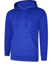 UX4 Hooded Sweatshirt from Uneek - Royal Blue