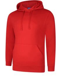 UX4 Hooded Sweatshirt from Uneek - Red