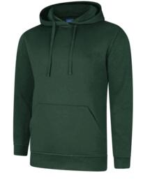 UX4 Hooded Sweatshirt from Uneek - Bottle Green