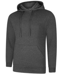 UX4 Hooded Sweatshirt from Uneek - Charcoal Grey