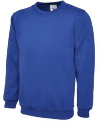 UX3 Sweatshirt from Uneek - Royal Blue