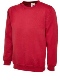 UX3 Sweatshirt from Uneek - Red