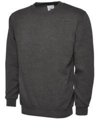 UX3 Sweatshirt from Uneek - Charcoal Grey