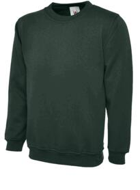 UX3 Sweatshirt from Uneek - Bottle Green