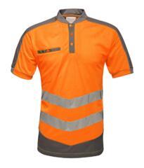Regatta Tactical HiVis Polo Shirt - Orange