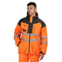 Regatta Tactical HiVis Parka Jacket - Orange