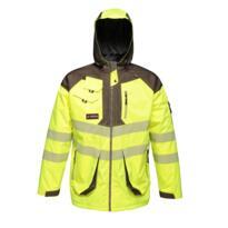 Regatta Tactical HiVis Parka Jacket - 15% off plus buy 5 get FREE Google Mini ! - Yellow