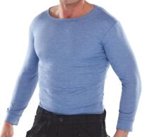 Click Thermal Vest Long Sleeved - Blue