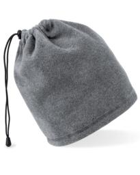 Beechfield Fleece Snood / Hat Combo - Charcoal