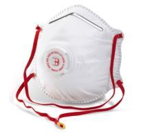 B-Brand Dust Masks - P2 Valved - Box 10