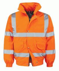 HiVis Bomber Jacket - Orange