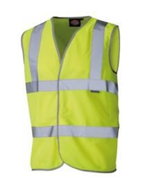 Dickies HiVis Vest - Yellow