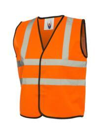 Uneek HiVis Childrens Vest - Orange