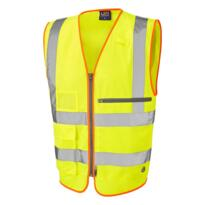 Leo HiVis Executive Tablet Vest - Yellow