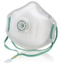 B-Brand Dust Masks - Premium P1 Valved - Box 10