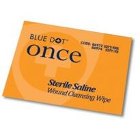 Saline Cleansing Wipes - Box 100