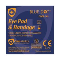 Eye Pad & Bandage - Single
