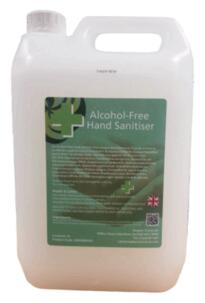Alcohol Free Hand Sanitizer  - 5Ltr