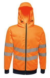 Regatta TRA471 HiViz Pro Stretch Hoodie - Orange