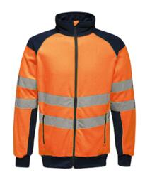 Regatta TRF525 HiVis Pro Fleece Jacket - Orange