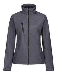 Regatta TRA613 Women's Ablaze Softshell Jacket - Seal Grey