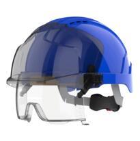 JSP EVO VISTAlens Safety Helmet - Blue