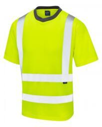 Leo HiVis EcoViz Tee Shirt - Yellow
