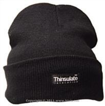 Alexander Windows Beanie Hat [Embroidered] - Black