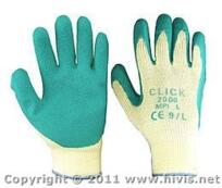 Latex Glove - Palm Coated