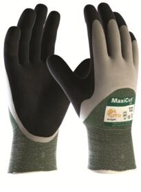 ATG MaxiCut Oil Glove - Palm-Coated Knitwrist Cut 3