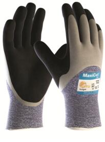 ATG MaxiCut Oil Glove - Palm-Coated Knitwrist Cut 5