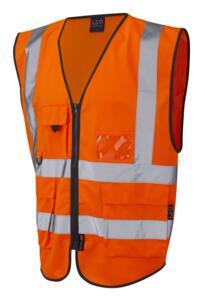 Leo HiVis Executive Vest - Orange