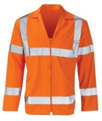 HiVis Polycotton Jacket - Orange