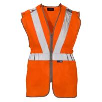 ST HiVis GO/RT Long Tracker Rail Vest - Orange
