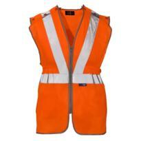 ST HiVis GO/RT Long Tracker Rail Vest - Orange