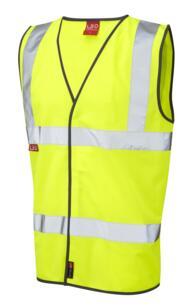 HiVis EN533 Flame Retardant Vest - Yellow