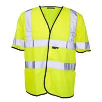 HiVis Short Sleeved Vest - Yellow