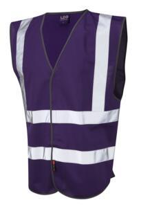 HiVis Coloured Vests - Purple