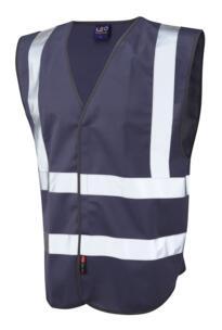HiVis Coloured Vests - Navy Blue